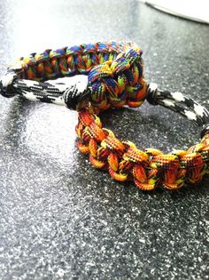 Paracord Bracelet Without Buckle (Tutorial) #jewelry #weave #knot #camping