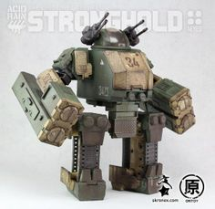 Oritoy Acid Rain Transforming Military Mecha Figures Stronghold, Speeder, More Transformers News Reviews Movies Comics and Toys