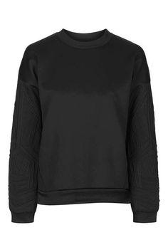Linear Embossed Sweatshirt by Ivy Park