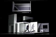 Stagedesign for PHAEDRA, a contemporary opera for Oper Halle, Germany Sebastian Hannak