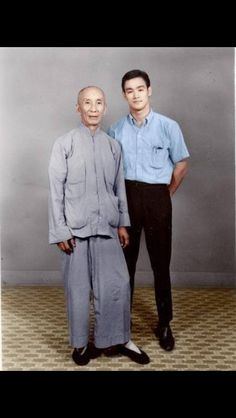 Bruce and Master Ip man