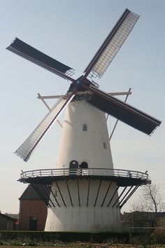 Flour and grinding mill De Lelie, Koudekerke, the Netherlands