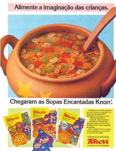 Você se lembra das Sopas Encantadas da Knorr? | 43 comidas e guloseimas inesquecíveis que você comeu quando era criança