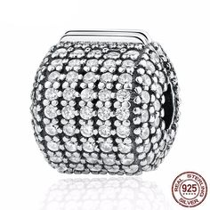 Cheap accessories fashion, Buy Quality accessories accessories directly from China accessories diy Suppliers: Authentic 925 Sterling Silver Pave Clear CZ Clip Charms Original fit pandora Bracelet DIY Fashion Jewelry Making Accessories Jewelry Sets, Fine Jewelry, Jewelry Making, Fashion Bracelets, Fashion Jewelry, Diy Fashion, Trendy Bracelets, Diy Moda, Argent Sterling