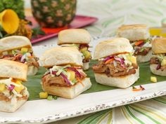 Pulled Pork Sliders recipe from Patricia Heaton Parties via Food Network