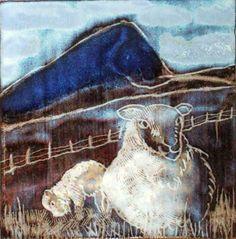 Drummin Sheep Sheep, Stoneware, Moose Art, Ceramics, Drawings, Artist, Pictures, Painting, Animals