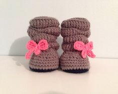 Baby Girl Crochet Slouch Boots custom made to by WithLoveByCole