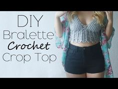 Gorgeous Crochet Crop Tops for Summer