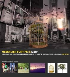 """Remember Nature"" by  Ioana Velescu. Meseriasii sunt pe 123RF!"
