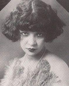 Actress Mae Fanning-1920's era Black Vaudevillian actress
