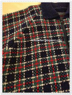 Crochet Blankets For Men haroşa Knitting Stitches, Baby Knitting, Knitting Patterns, Crochet Patterns, Crochet For Beginners Blanket, Knitting For Beginners, Tartan, Plaid, Knit Vest Pattern