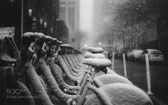 A Little Weather Never Stopped Us NYC by lanolan