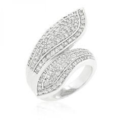 Pave Wrap Ring