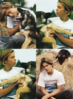 River Phoenix. God, he was perfect...*sigh*