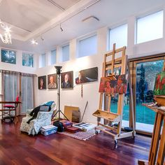 Art Studio Design, Pictures, Remodel, Decor and Ideas - page 11
