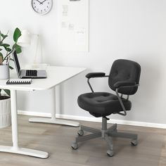 IKEA offers everything from living room furniture to mattresses and bedroom furniture so that you can design your life at home. Check out our furniture and home furnishings! Retro Office Chair, Best Office Chair, Black Office Chair, Office Chairs, Ikea Office, Buy Office, Desk Chairs, Office Desk, Seat Foam