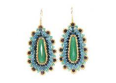 @miguelases Green jade #earrings. Stunning. #peterkate #$274.00