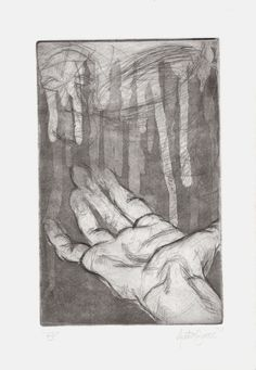 7 x 10 inches / State 3 / Intaglio print Art Work, Fine Art, Painting, Artwork, Work Of Art, Paintings, Draw, Visual Arts, Drawings