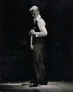 """David Bowie, 1976. """"The truth is of course is that there is no journey. We are arriving and departing all at the same time."""" ― David Bowie."""