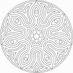 These are our some collections about Mandalas printable coloring pages. Print out and color several pictures of Mandalas Mandalas printable. Mandalas Drawing, Mandala Coloring Pages, Coloring Book Pages, Printable Coloring Pages, Zentangles, Mandala Original, Zen Colors, Bright Colours, Parchment Craft