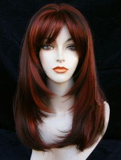 wigs for long round faces | Condition: Brand New Wigs with Tag.... I Think this is my new hair color for spring...