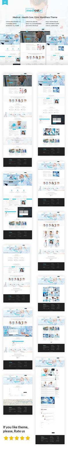 Medical Plus  Health Care Clinic WordPress Theme