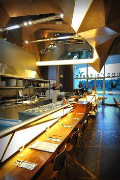 Awesome Chefu0027s Table / Buensalido Architects Idea