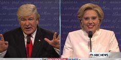 SNL's Final Clinton-Trump Debate Spoof Is the Best One Yet