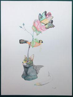 """Delphine VAUTE """"Polka"""" 2015 galerie 3e parallèle, Paris Salon Ddessin {15}"""