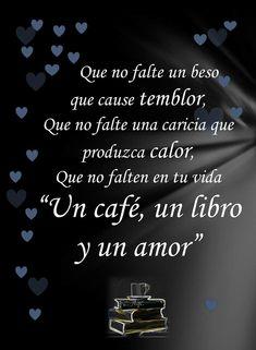 Un café, un libro... y pues sí, también un amor.