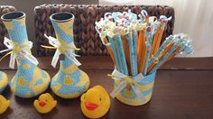 Baby shower decorations Vases & Pencil holder
