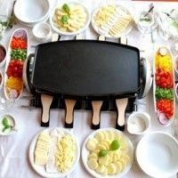 Quick List of Foods for a Raclette Party