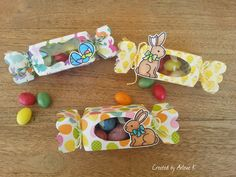 """https://flic.kr/p/rWcKD9   Easter Candy Boxes   Lawn Fawn """"Candy Box"""" die. Lawn Fawn """"Eggstra Special Easter"""" stamp set and coordinating die. <a href=""""http://knipoogcreations.blogspot.com/2015/04/easter-candy-boxes.html"""" rel=""""nofollow"""">knipoogcreations.blogspot.com/2015/04/easter-candy-boxes....</a>"""