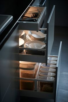 Smart interiors mean even the messiest drawers can be organised.