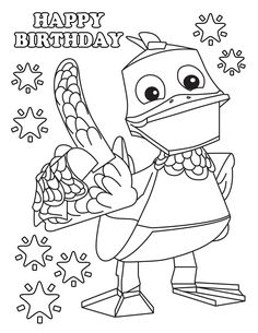 Zack And Quack - Free Birthday Party Favors Cartoon Themes Free Birthday, Birthday Party Favors, 4th Birthday, Free Printables, Cartoon, Activities, Draw, Blue Prints, Birthday