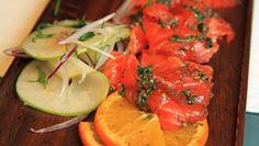 Foto: Tone Rieber-Mohn / NRK Frisk, Bruschetta, Feta, Vegetables, Ethnic Recipes, Vegetable Recipes, Veggies