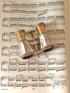 Victorian era opera glasses ❦