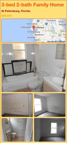 3-bed 2-bath Family Home in St Petersburg, Florida ►$59,900 #PropertyForSale #RealEstate #Florida http://florida-magic.com/properties/79753-family-home-for-sale-in-st-petersburg-florida-with-3-bedroom-2-bathroom