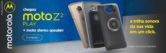 Conheça o Moto Z² Play 4G com 4 GB de RAM e 64 GB de memória, o telefone que vai te dar infinitas possibilidades. E com o seu Moto Stereo Speaker, também vai se transformar em uma poderosa caixa de som que vai proporcionar um som estéreo de alta qualidade que vai animar qualquer festa - além de te dar a opção de atender chamadas em viva voz!  Fique o dia todo com um único carregamento. Dúvidas pergunte ao divulgador  #moto #motorola #motoz #motoz2 #Smartphone #celular #som #musica #audio