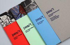 Pes (Experimental Standard Publication) brochure design