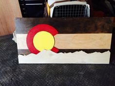 Colorado's Natural Beauty Tied Into a Stunning by ColoRADocarved, $115.00