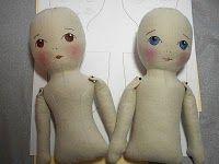 Cloth Doll Tutorial w/Pattern