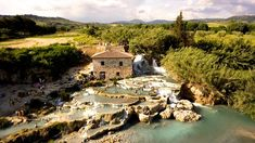 While the temperatures drop across Italy, we invite you to check out some of the boot's best hot springs