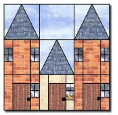 House barn quilt blocks 19 new Ideas House Quilt Patterns, House Quilt Block, Paper Piecing Patterns, Quilt Block Patterns, Pattern Blocks, Quilt Blocks, Quilting Projects, Quilting Designs, Quilting Ideas