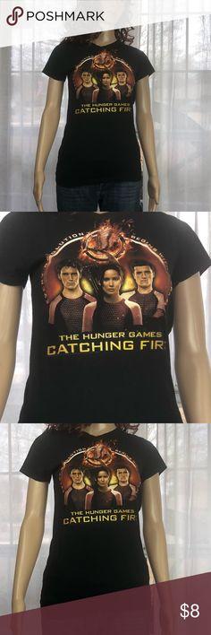 Hunger Games Tee Large( juniors) Hunger Games Tee Large( juniors) Tops Tees - Short Sleeve