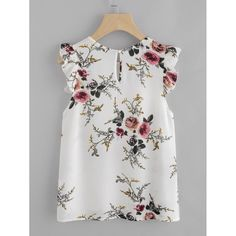 Color: Multicolor Style: Casual Collar: Round Neck Sleeve Length: Sleeveless Material: 100% Polyester Pattern Type: Floral Size Available: XS, S, M, L Shoulder (cm): XS: 29 cm, S: 30 cm, M: 31 cm, L: 32 cm Bust (cm): XS: 86 cm, S: 90 cm, M: 94 cm, L: 98 cm Length (cm): XS: 55 cm, S: 56 cm, M: 57 cm, L: 58 cm Fit Type:
