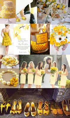Yellow Wedding Ideas and Inspiration!
