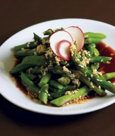 Asian Asparagus Salad with fresh, Kentucky Proud veggies, compliments of the University of Kentucky's Cooperative Extension program, Plate It Up.