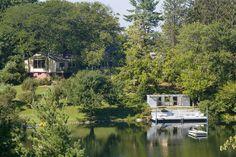 【スライドショー】ニューヨーク州アーモンクにある湖と風車付きの邸宅 - WSJ.com