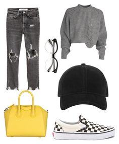 """Fall outfit #2"" by karinstyleonly on Polyvore featuring Vans, Givenchy and rag & bone"